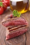 Grilled beefsteak Royalty Free Stock Image