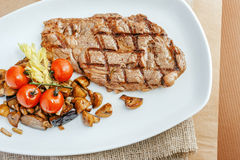 Grilled beefsteak Royalty Free Stock Photos