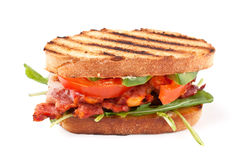 Grilled BLT sandwich Stock Photography