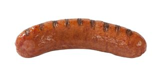 Grilled bratwurst Royalty Free Stock Images