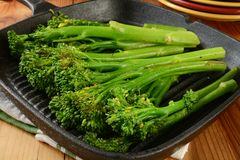 Grilled broccoli Royalty Free Stock Image