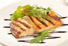 Grilled carp fillet Stock Image