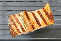 Grilled carp fillet Stock Photography