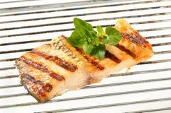 Grilled carp fillet Royalty Free Stock Image