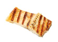 Grilled carp fillet Stock Photos