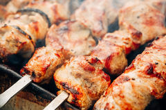 Grilled Caucasus Barbecue Royalty Free Stock Photography