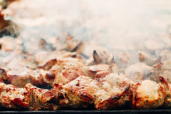 Grilled Caucasus Barbecue Stock Images