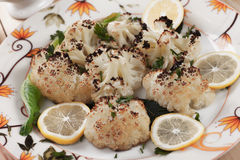 Grilled cauliflower Royalty Free Stock Image