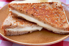 Grilled cheese Stock Photography