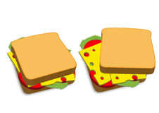 Grilled Cheese Royalty Free Stock Images