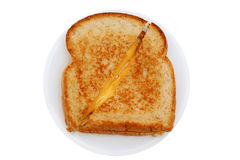 Grilled cheese 2 royalty free stock photo