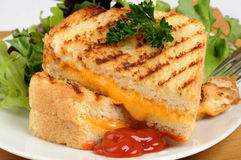 Grilled Cheese Stock Image