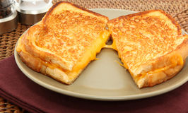 Grilled Cheese Sandwhich Stock Photography