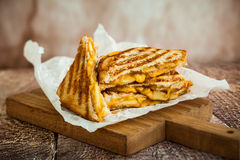 Free Grilled Cheese Sandwich Royalty Free Stock Photo - 57785905