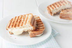 grilled cheese sandwich Stock Image
