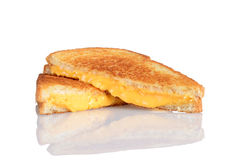 Free Grilled Cheese Sandwich With Reflection Royalty Free Stock Photos - 27070938