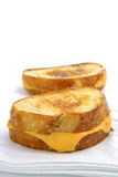 Grilled Cheese on Sour Dough Bread Royalty Free Stock Image