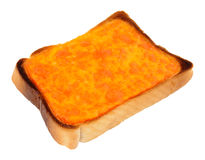 Grilled Cheese On Toast Stock Image