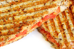 Grilled Cheese and Tomato Sand Stock Photography