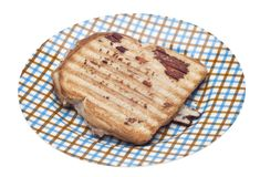 Grilled Cheese or Tuna Melt Sandwich Royalty Free Stock Images