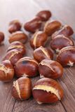 Grilled chestnut Royalty Free Stock Image