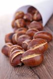 Grilled chestnut Royalty Free Stock Photo