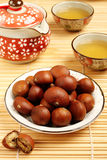 Grilled chestnuts Royalty Free Stock Photo