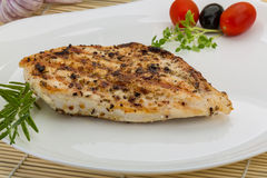 Grilled chichen breast Royalty Free Stock Image