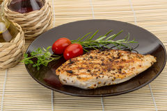 Grilled chichen breast Stock Photo