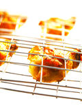 Grilled chicken. Close up of grilled chicken Royalty Free Stock Photography