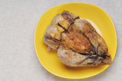 Grilled chicken. Royalty Free Stock Photos