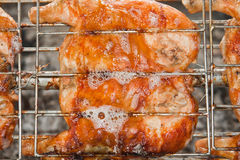 Grilled chicken Stock Photography