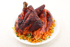 Grilled chicken from Asian cuisine Royalty Free Stock Photo