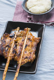Grilled chicken Asian Stock Images