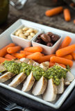 Grilled Chicken Bento Royalty Free Stock Images