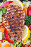 Grilled chicken breast Royalty Free Stock Photos