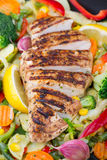 Grilled chicken breast Royalty Free Stock Photography