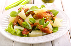 Grilled chicken breast salad Stock Image