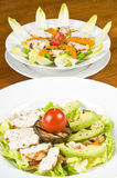 Grilled Chicken Breast Salads Royalty Free Stock Photography