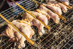 A grilled chicken breasts. A grilled chicken the breasts Royalty Free Stock Photography