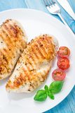 Grilled chicken breasts Royalty Free Stock Photography