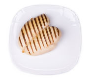 Grilled chicken breasts. Stock Photos