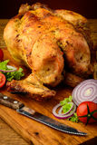 Grilled chicken closeup Royalty Free Stock Photo