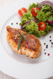 Grilled chicken filet Stock Photography