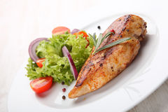 Grilled chicken filet Royalty Free Stock Photography