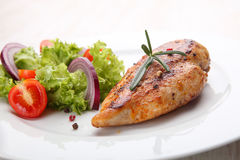 Grilled chicken filet Royalty Free Stock Image