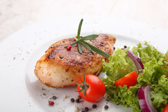 Grilled chicken filet Royalty Free Stock Photos