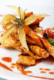 Grilled chicken fillet Royalty Free Stock Photography