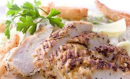 Grilled Chicken fillet Stock Image