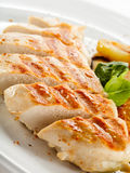 Grilled chicken fillet Royalty Free Stock Photo